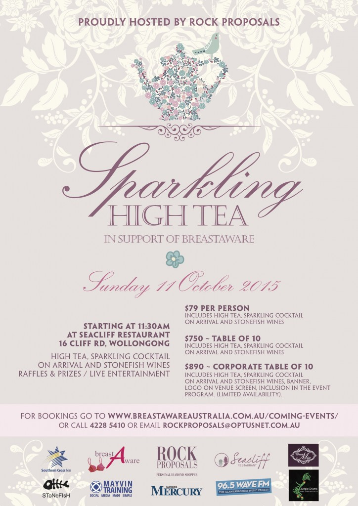 BreastAware Sparkling High Tea