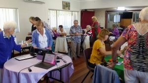 Dutch women's Seniors group Figtree